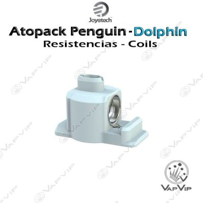 Resistencias JVIC Atopack PENGUIN-DOLPHIN: JVIC1 y JVIC2 by Joyetech