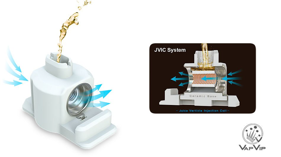 Resistencias JVIC Atopack PENGUIN: JVIC1 y JVIC2 by Joyetech