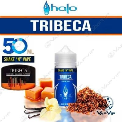TRIBECA Shake 'n' Vape E-liquido 50ml (BOOSTER) - Halo