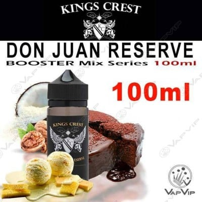 DON JUAN RESERVE 100ml (BOOSTER) - KINGS CREST eliquids