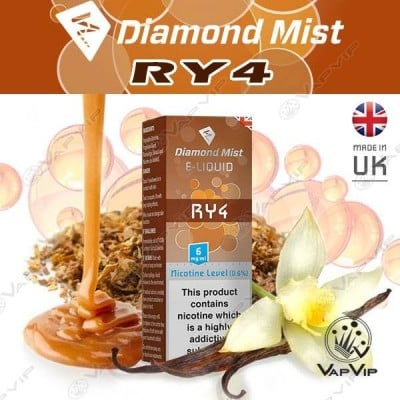 RY4 E-liquid 10ml - Diamond Mist