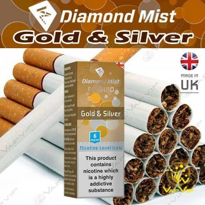 GOLD & SILVER E-liquid 10ml - Diamond Mist