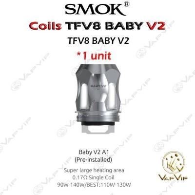 Head Coils TFV8 BABY V2- V8Baby V2- Smok