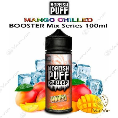 MANGO Chilled E-liquid 100ml (BOOSTER) - Moreish Puff in Europe and Spain