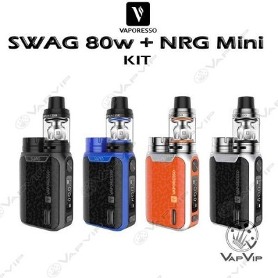 Swag 80W + NRG SE Tank 2ml Full Kit by Vaporesso