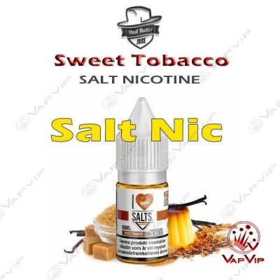 Nic Salt Sweet Tobacco Nicotine Salts Eliquid 10ml - Mad Hatter