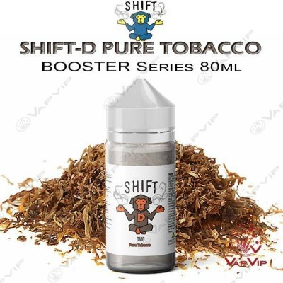 SHIFT D Pure Tobacco 80ml (BOOSTER) - SHIFT