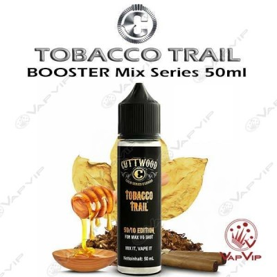 TOBACCO TRAIL E-liquido 50ml (BOOSTER) - Cuttwood Eliquids