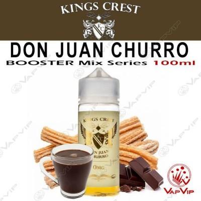 DON JUAN CHURRO 100ml (BOOSTER) - KINGS CREST eliquids