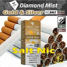 Gold & Silver Diamond Mist Salted