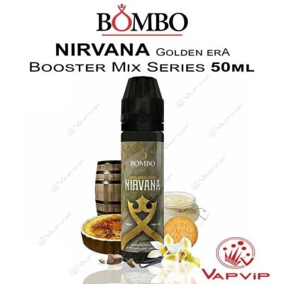 NIRVANA Golden Era E-liquid 50ml (BOOSTER) - Bombo