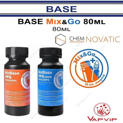 80ML Base Mix & Go VPG Without Maceration - Chemnovatic