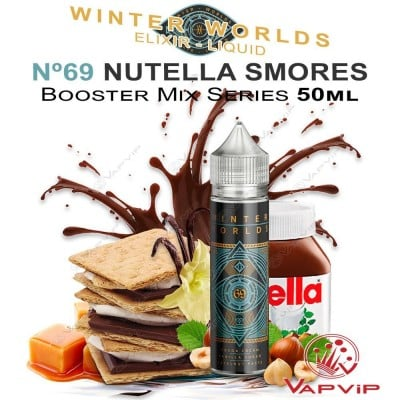 Nº 69 NUTELLA SMORES E-liquid 50ml (BOOSTER) - Winter Worlds