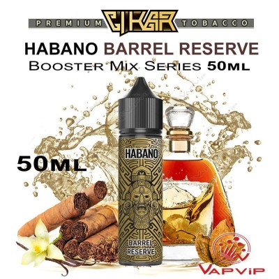 HABANO BARREL RESERVE E-liquid 50ml (BOOSTER) - CIKAR