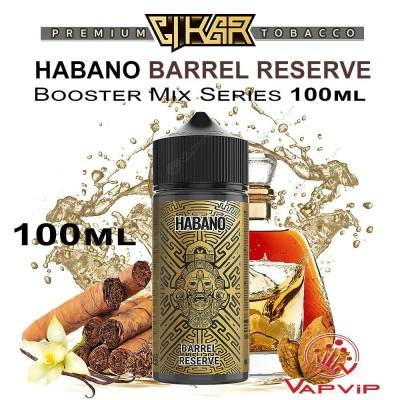HABANO BARREL RESERVE E-liquid 100ml (BOOSTER) - CIKAR