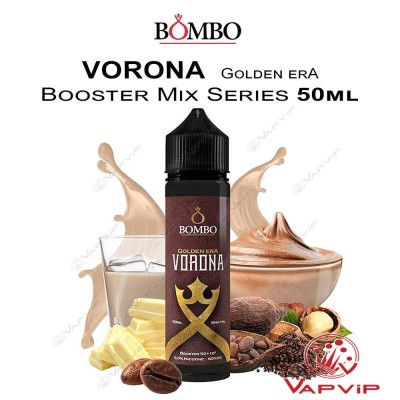 VORONA Golden Era E-liquid 50ml (BOOSTER) - Bombo