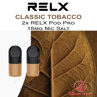RELX Pro CLASSIC TOBACCO 2x Pre-Filled Capsules