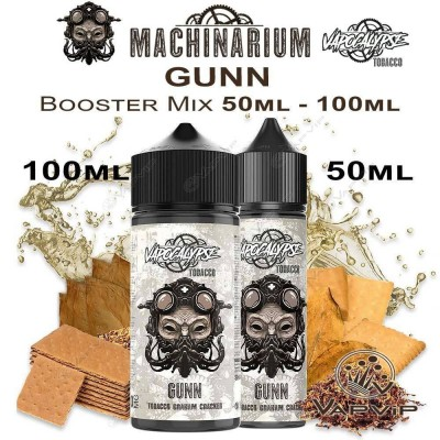 Machinarium GUNN Eliquid 50ML (BOOSTER) - Machinarium