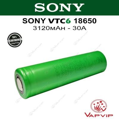 Sony VTC6 3120mAh - 30A US18650VTC6 Battery