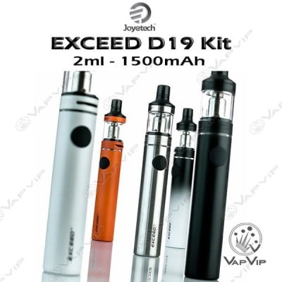 EXCEED D19 Kit 1500mAh by Joyetech