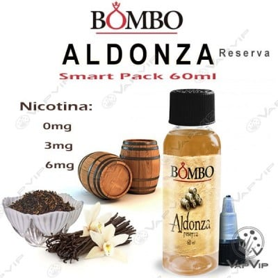 ALDONZA RESERVA 60ml Smart Pack E-liquido - Bombo