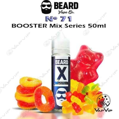 BEARD Nº71 E-liquido 50ml (BOOSTER) - Beard Vape Co.