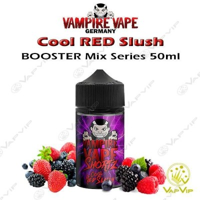 Cool RED Slush 50ML (BOOSTER) - Vampire Vape