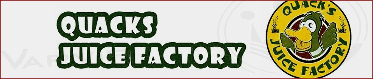 Quack's Juice Factory Flavors