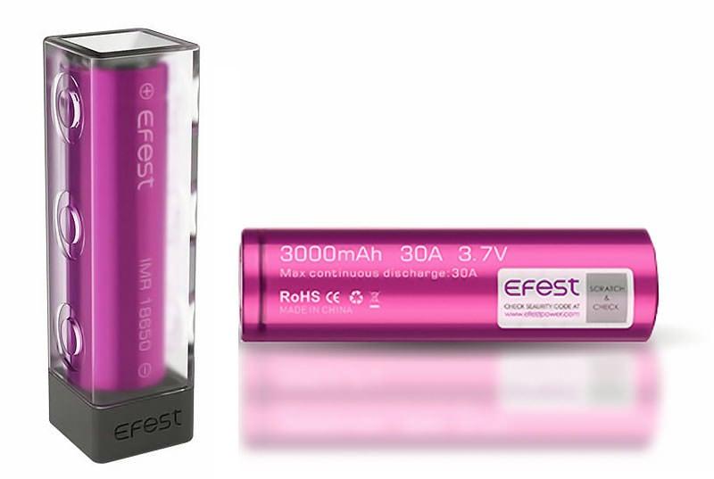 Efest 35A 3000mAh 18650 Nuevo modelo 2016