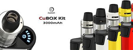 CuBox Kit 3000mAh + CUBIS 2 by Joyetech España