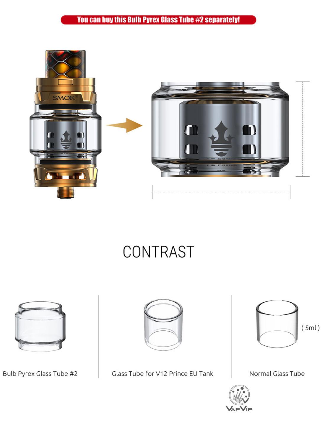 TFV12 Prince EU 2ml Atomizador by Smok comprar en España