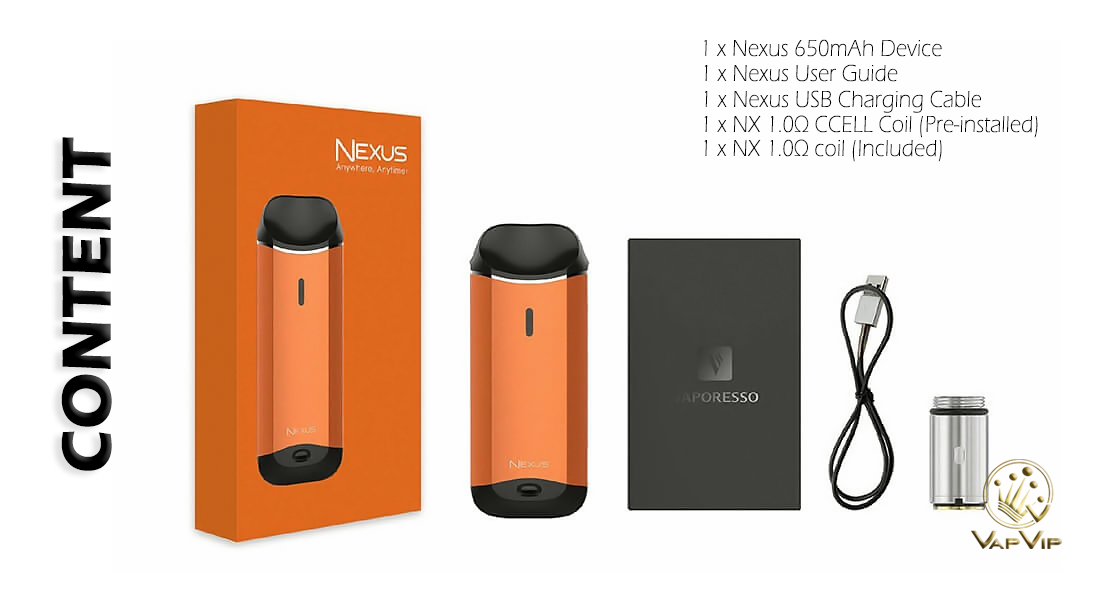 NEXUS Pod Kit by Vaporesso to buy in Europe and Spain