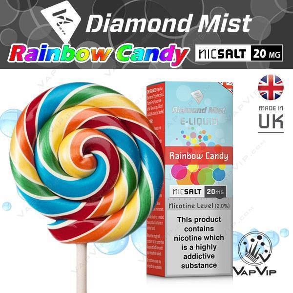 Rainbow Candy - Diamond Mist