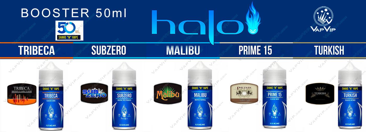 Halo Shake 'n' Vape E-liquido formato BOOSTER 50ml en España