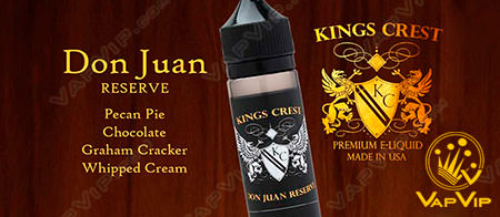 DON JUAN RESERVE E-liquido 60 ml - KINGS CREST en España