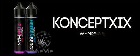 HEISENBERG E-liquido KONCEPT XIX 50ML (BOOSTER) - Vampire Vape en España
