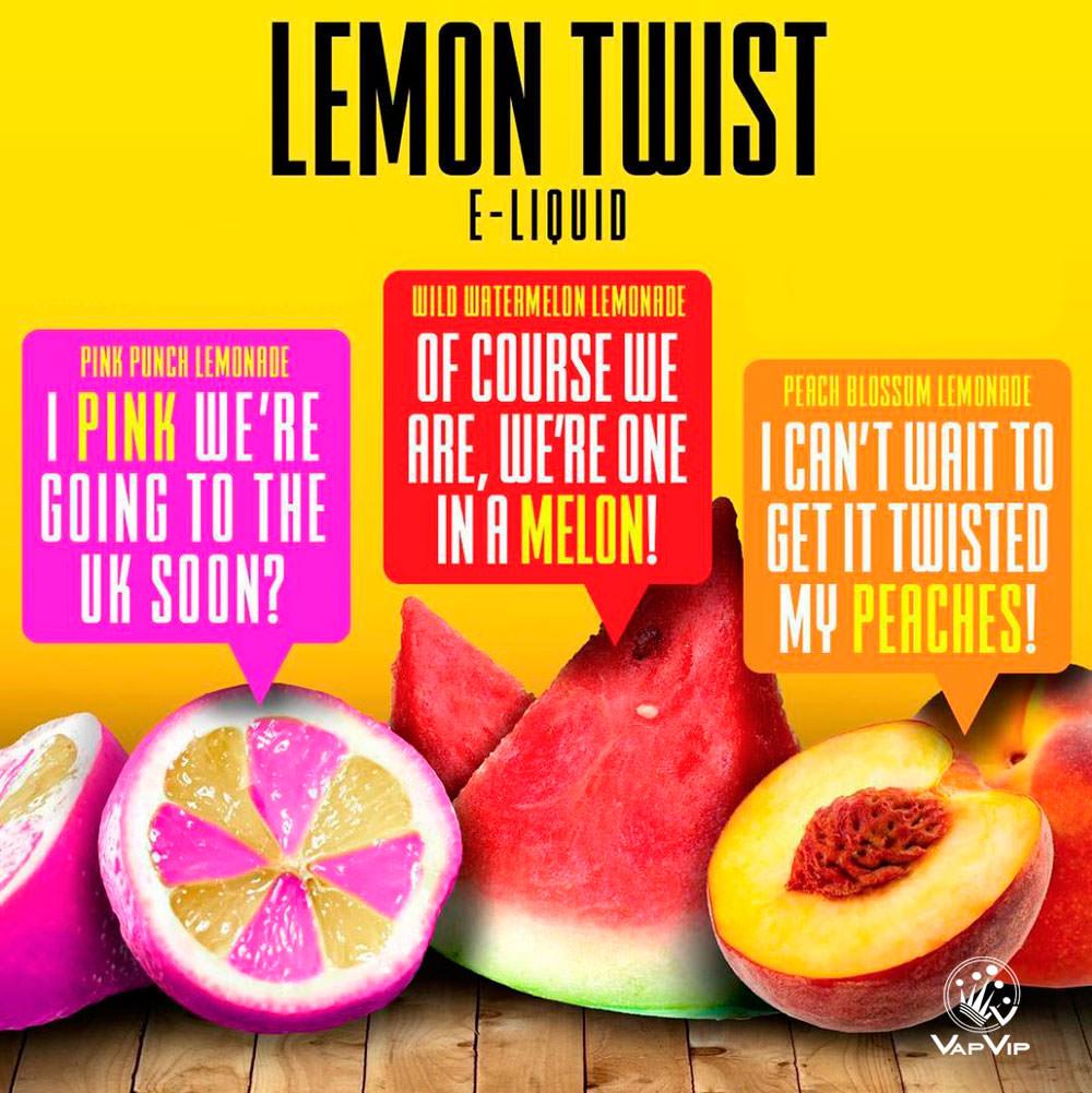 E-liquido BOOSTER -Lemon Twist E-Liquids en España