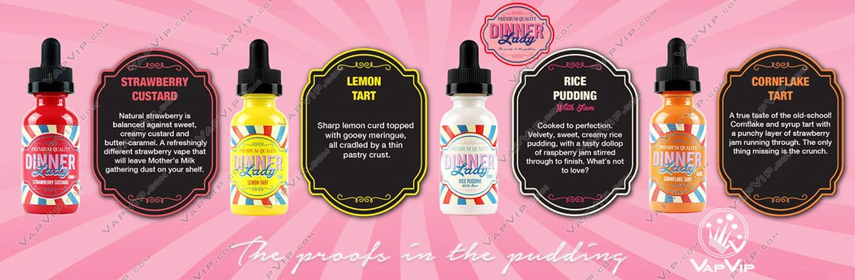 LEMON TART eliquid 3x10 ml - Dinner Lady in Spain