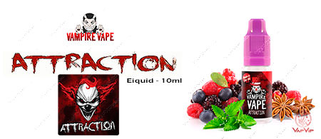 ATTRACTION Vampire Vape elíquidos en España