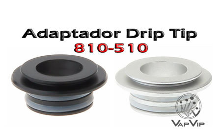 Adaptador Drip Tip 810 a 510 comprar en España