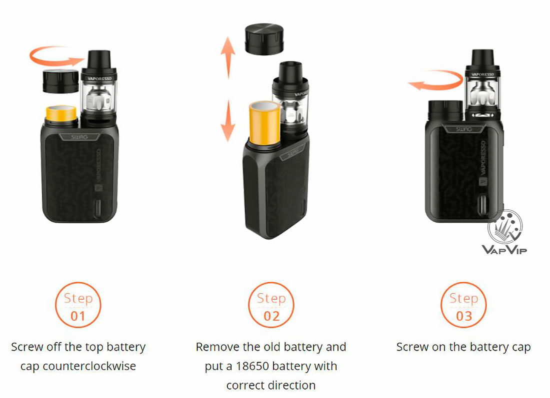 Swag 80W + NRG SE Tank 2ml Full Kit by Vaporesso en España