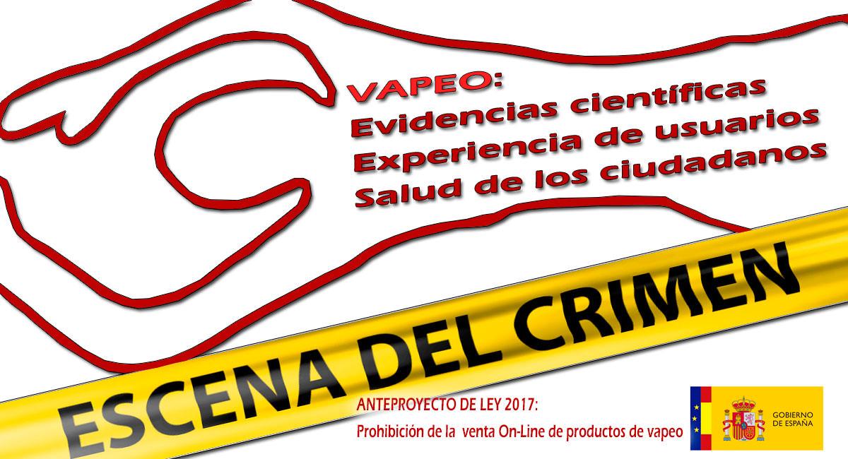 PROHIBICIÓN DE LA VENTA ON-LINE DE CIGARRILLOS ELECTRÓNICOS