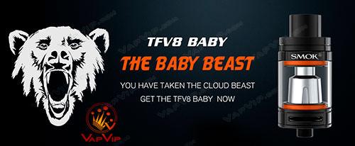TFV8 Baby 3ml Atomizador by Smok España