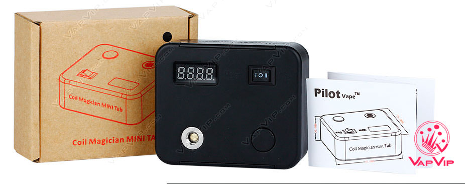 PilotVape Coil Magician Mini Tab Medidor de Ohmios España