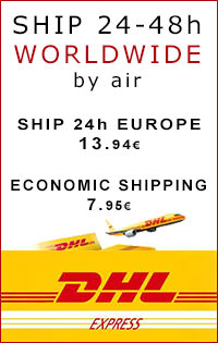 We ship worldwide electronic cigarettes by UPS and Correos