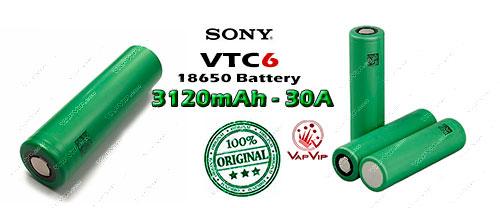 Sony VTC6 3120mAh - 30A US18650VTC6 Batería en España