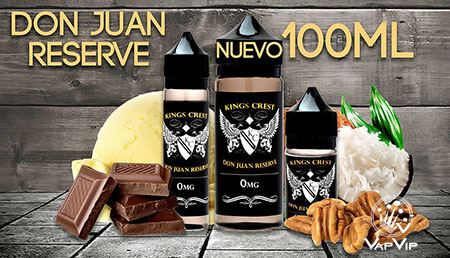 DON JUAN RESERVE E-liquido 100 ml - KINGS CREST en España