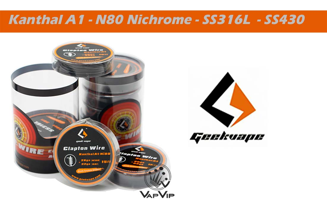 Resistor Wire Roll - GeekVape Spain and Europe