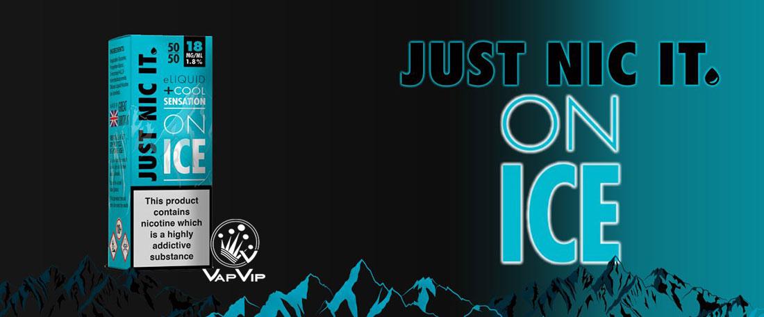 NicoKit: Just Nic It ON ICE 10ml 18mg/ml