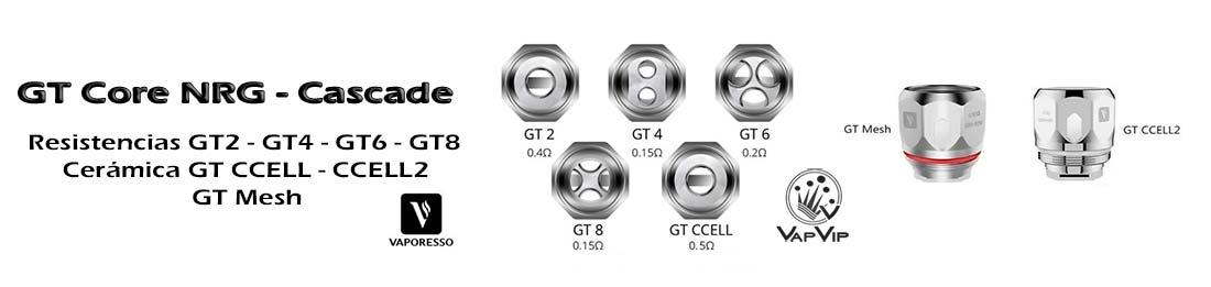 Resistencias GT Core para NRG by Vaporesso comprar en España